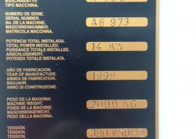 Fresadora Convencional Cnc Kondia K600
