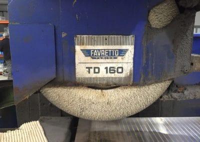 Rectificadora Tangencial Favretto Td 160