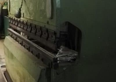 Plegadora Mebusa 2400x80 Tn