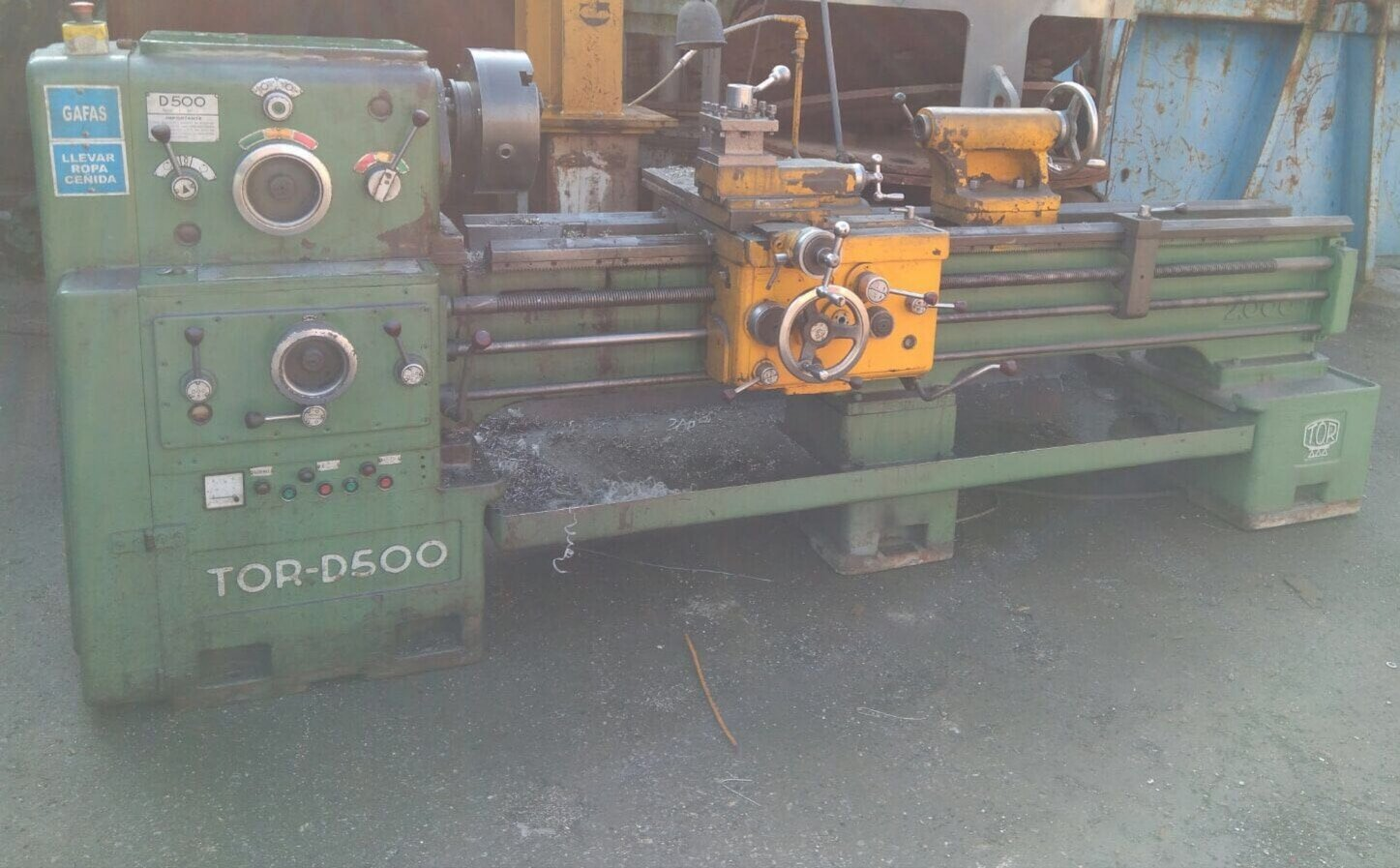Torno TOR-D500 x 2000