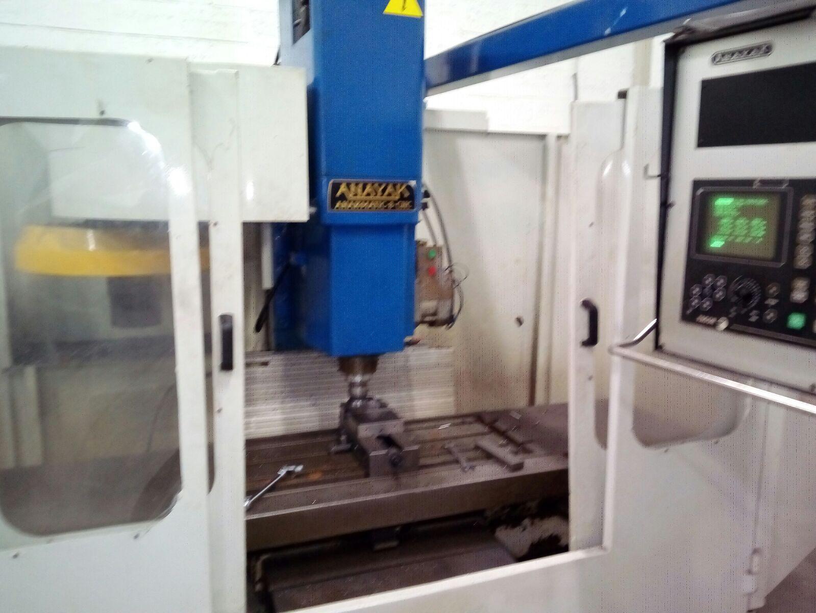 Centro de Mecanizado Anayak Modelo Anakmatic 8 CNC