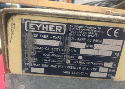 Plataforma Elevadora EYHER