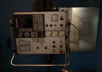 Fresadora Zayer BFU 4000 CNC Fagor 8030